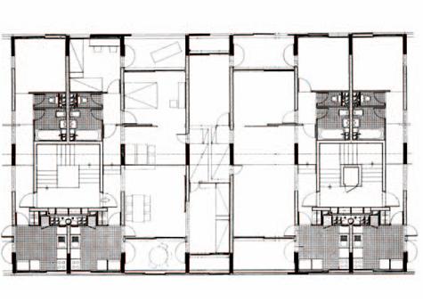 La cellule du mirail aarp r mi papillault architecte for Plan du site de logement